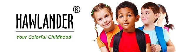 hawlander kids backpack for boys preschool and kindergarten primary school students