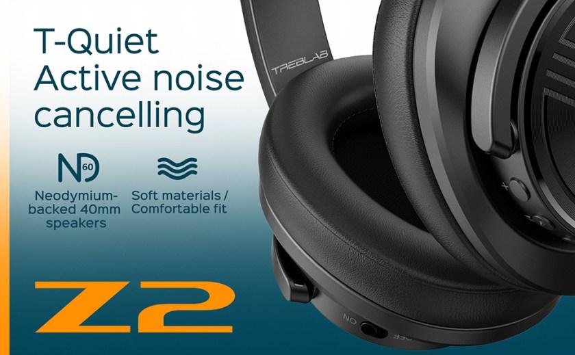 T-Quiet Active noise cancelling
