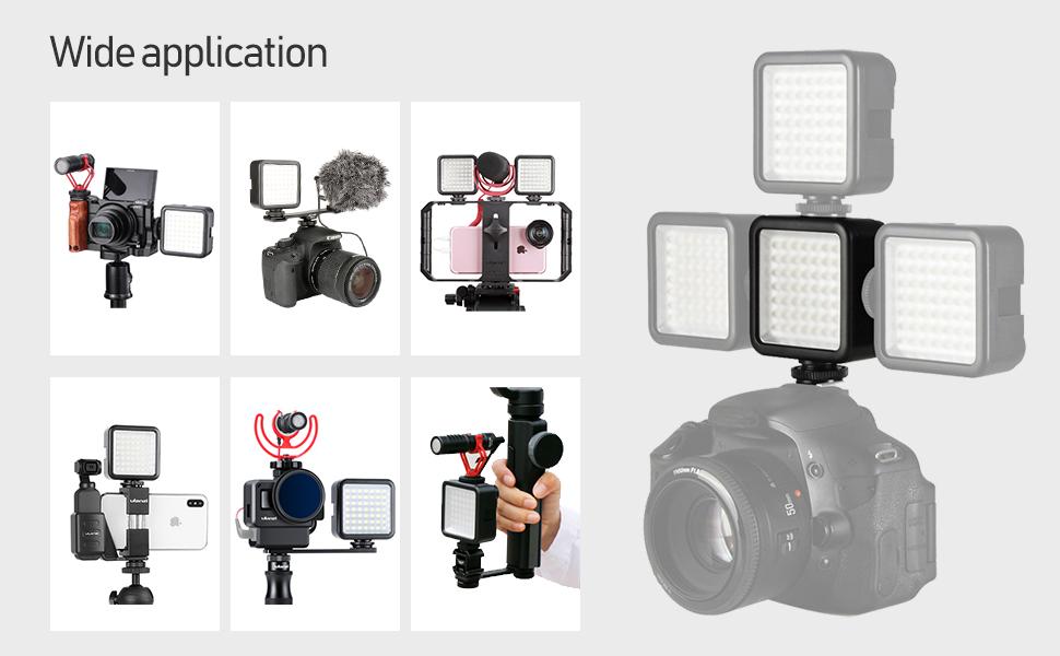 49 led video light