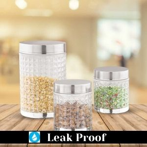 Storage container set, kitchen set storage containers, airtight container