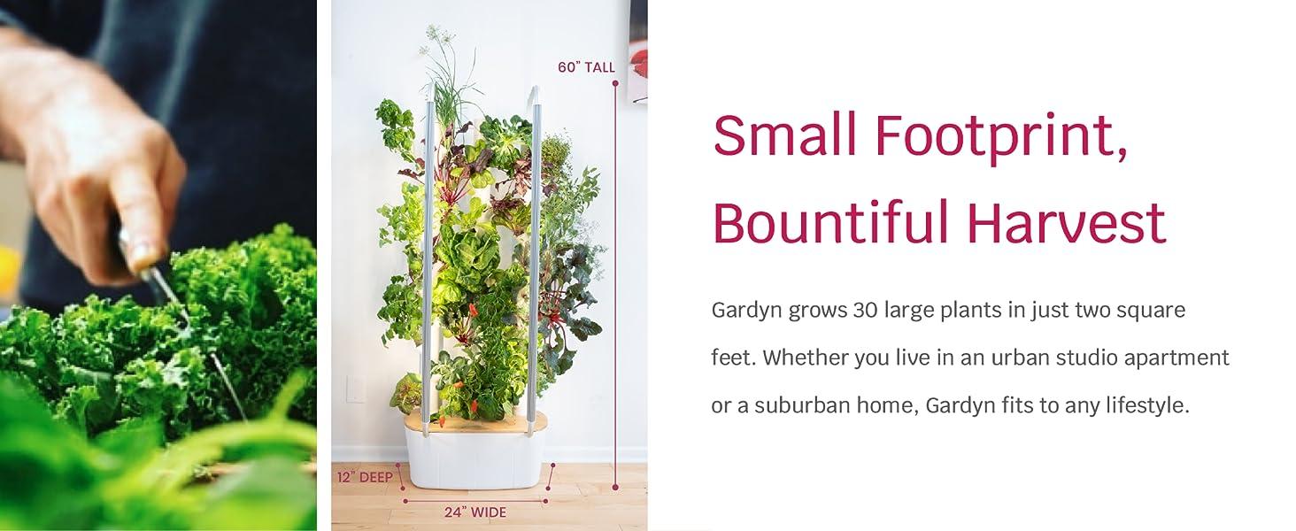 Home Indoor Smart Garden WiFi Integrated Vertical Gardening Kit Hydroponic Growing System