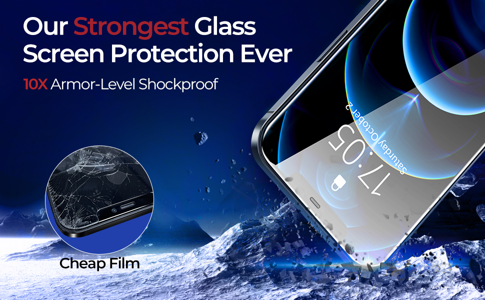 screen protector for iphone 12 pro max