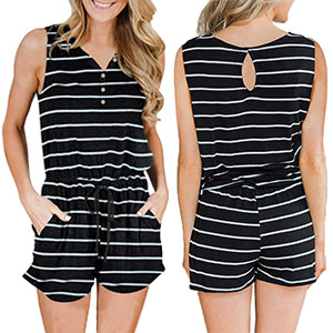 Womens Summer Rompers