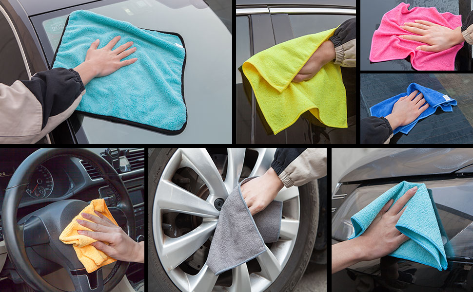 Microfiber Cleaning Cloth Vehicle Wash Cloth