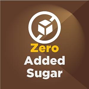 zero added sugar protein bar