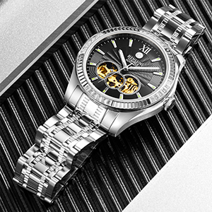 skeleton watches for men automatic