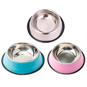 2 pack stainless steel dog bowl