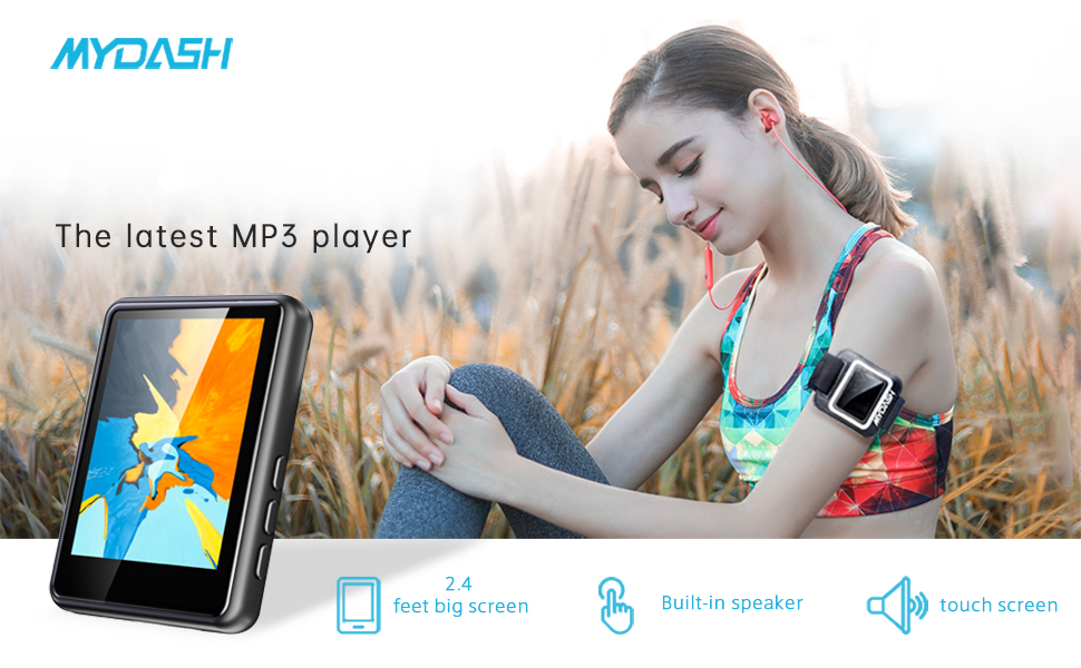 mp3 player adopts Bluetooth 4.2 wireless