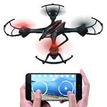 WLAN-ÜBERTRAGUNG Die Bedienung der Drohne kann aus einer Entfernung vonbis zu 100 Metern entfernen.