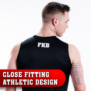 five knuckle bullet sleeveless muscle performance shirt