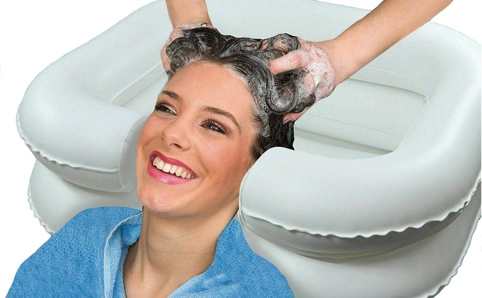 Portable Inflatable Shampoo Basin