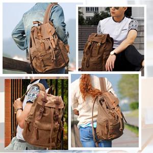 women men backpack