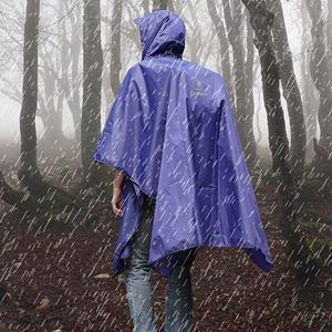 regenponcho herren Poncho Regenmantel Regenjacke Wasserdicht Outdoor schwarz Camping Damen Fahrrad