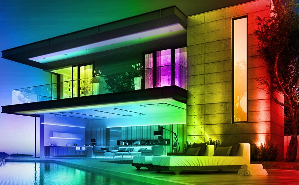 led strip lights for home indoor