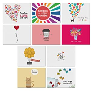 thinking of you cards with greetings inside missing you friendship cards