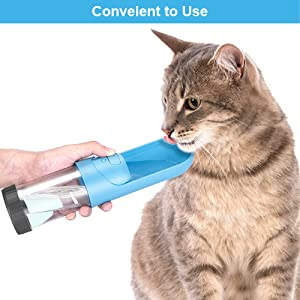 pet water bottle dog cat water dispenser