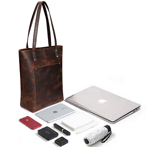 Just One Bag to Hold Your Laptop & Essentials