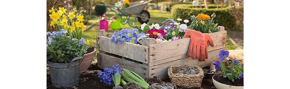 COOLJOB Gardening Gloves for Women