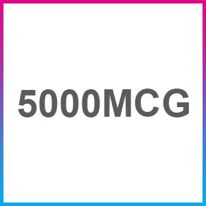 5000mcg biotin