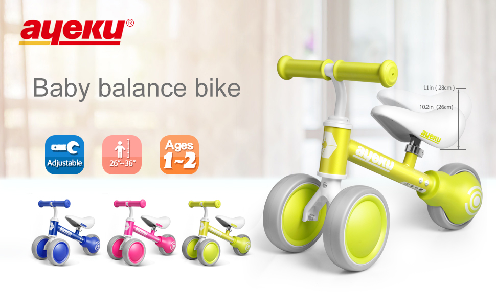 baby balance bike first birthday gifts for girls
