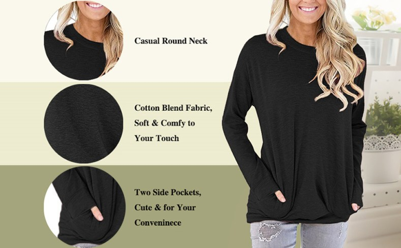 onlypuff womens casual baggy shirts short sleeve pocket tee shirt