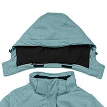 Women's Fleece Lined Warm Rain Jacket