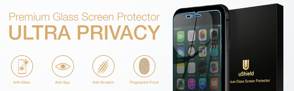 privacy screen protector for iphone 8 plus / 7 plus