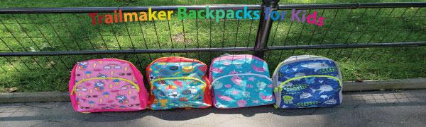 Trailmaker boys backpack girls backpacks bulk wholesale kids backpacks for school elementary printed