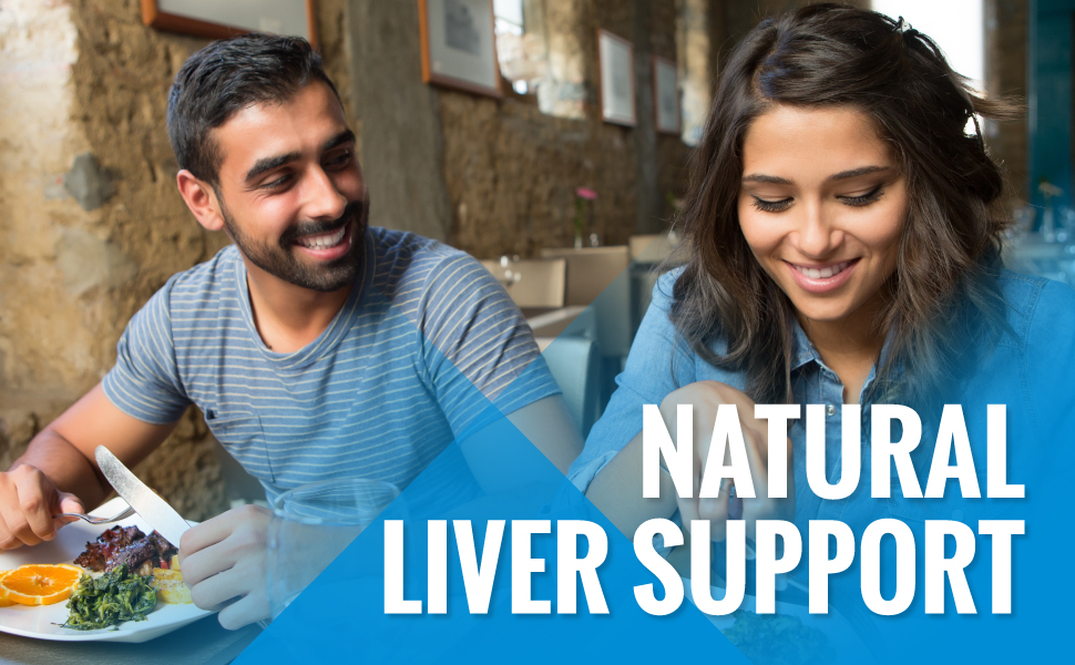 Natural liver support with milk thistle capsules liver cleanse liver detox liver support supplement