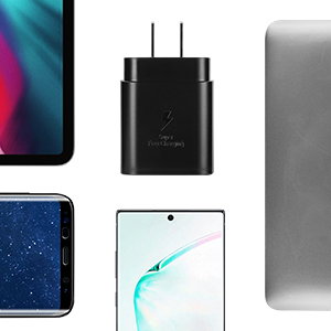 samung usb c fast wall charger s8 note10