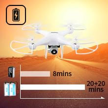 20mins+20mins Drone