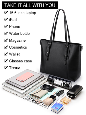 Just One Bag to Hold Your Laptop & Other Essentials
