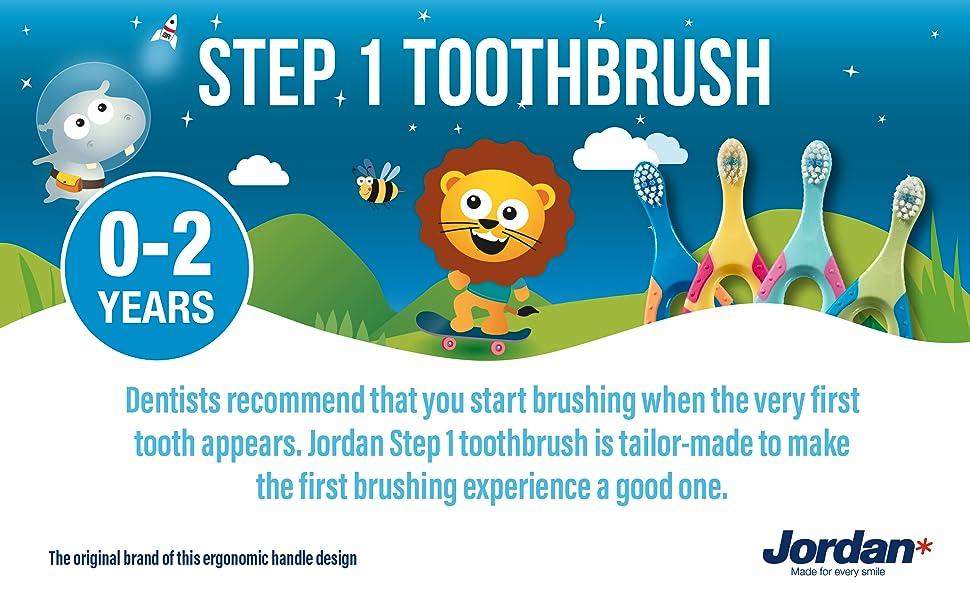 step 1 toothbrush
