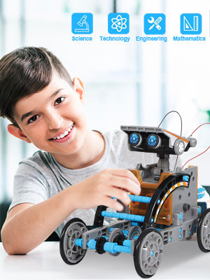 STEM Toys Robot Science Kits for Kids 8 9 10-12 Year Olds