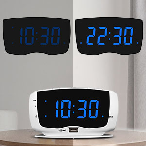 alarm clock radios with dimmer