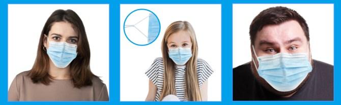 face masks disposable