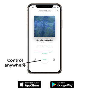 Control your device from anywhere with the Pura App