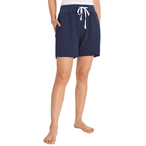 womens french terry shorts