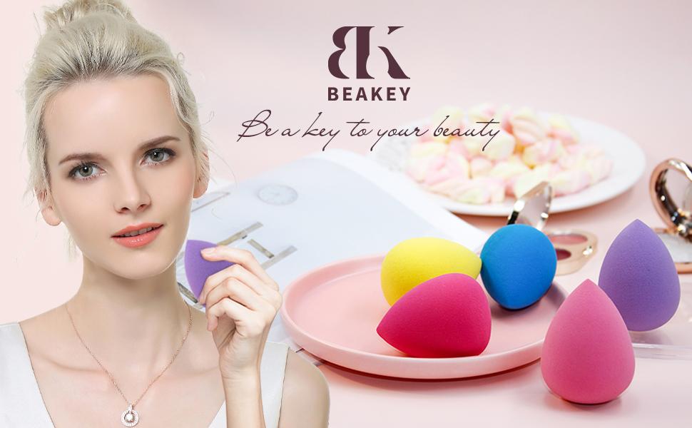 BEAKEY Makeup Sponge Set