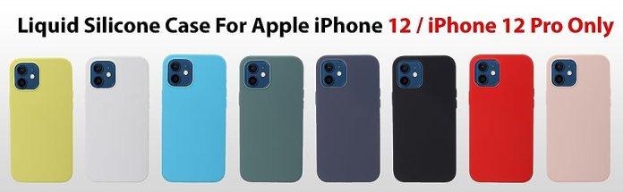 liramark iphone 12 pro silicone case