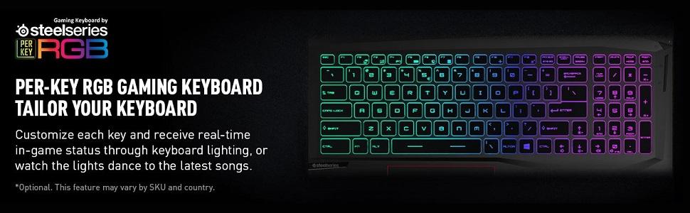Per-Key RGB Gaming Keyboard