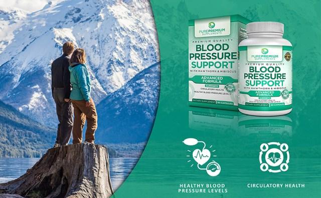 blood pressure support hypertension circulatory health