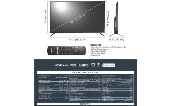 Fire TV Specs