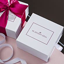 Eleganzia gift box with soft polishing cloth for cleaning and protection