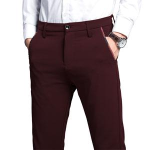 slim fit pants for men