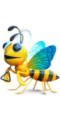 Honeybee Yard Art