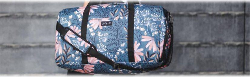 jadyn b weekender duffel bag large barrel duffel bag shoe pocket compartment secure travel overnight