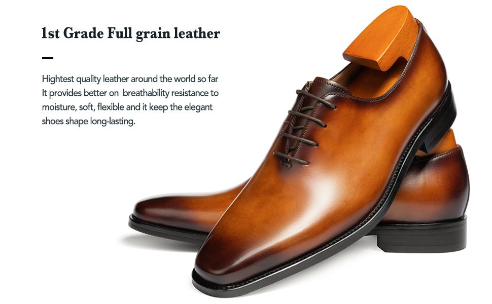 1st Grade Full grain leather