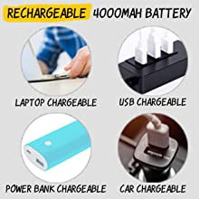 Rechargeable 4000 mAh Battery