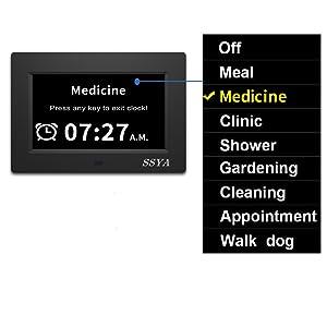 12 options alarms clock